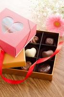 chocolat de la saint valentin photo