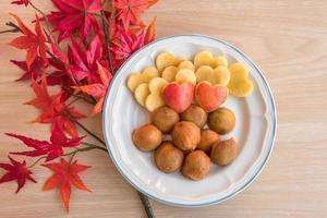 fruits pour l'alimentation et en bonne santé photo