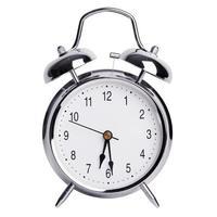 six heures et demie sur un réveil