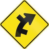 routes décalées en courbe en australie