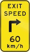 vitesse de sortie consultative en Australie