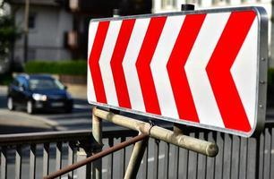 courbe dangereuse photo