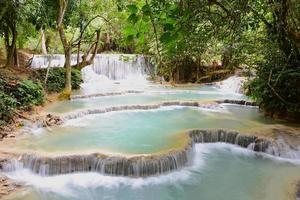 chute d'eau de kouangxi photo