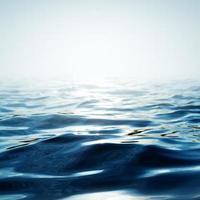 eau bleue abstraite photo