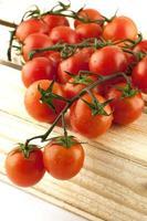 tomates avec gouttes d'eau