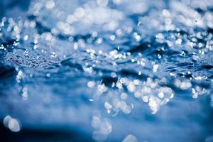 l'eau bleue