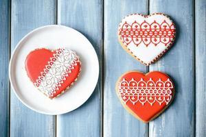 biscuits de la Saint-Valentin photo