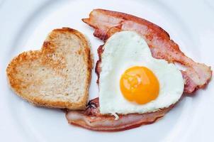 petit-déjeuner de la Saint-Valentin
