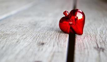 fond de Saint Valentin avec coeur. photo
