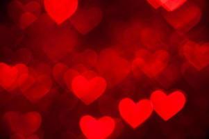 fond de vacances en forme de coeur rouge photo