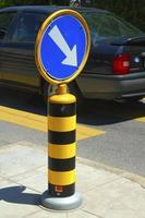 panneau de signalisation photo