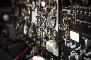 indicateurs de cockpit. photo