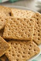 biscuits Graham au miel sains photo