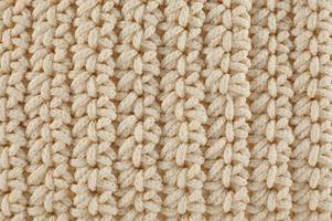 texture tricotée photo