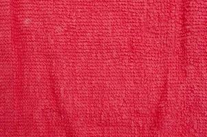textures de serviette photo