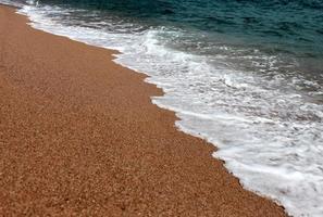 vague de la mer photo