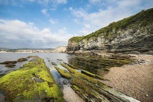 littoral en espagne, golfe de biscaye photo