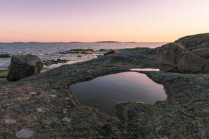 paysage de la mer baltique