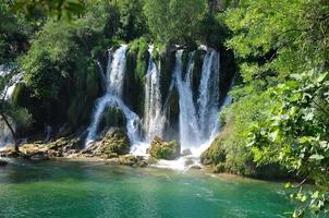cascade à kravica (croatie)