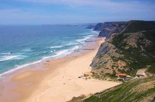 algarve beach da cordama photo