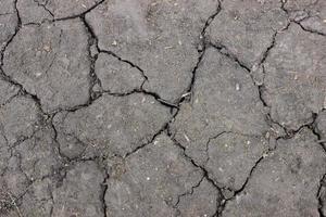 texture du sol fissuré photo