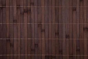 texture de napperon en bambou photo