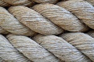 texture de corde épaisse photo