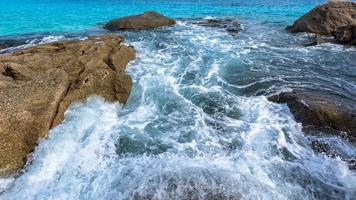 mer d'été en thaïlande