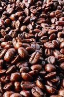texture de grain de café photo