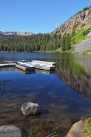 "le ""lac mammouth"" peu profond photo"