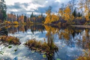 l'automne en Sibérie