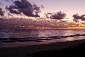 lever du soleil des Caraïbes photo