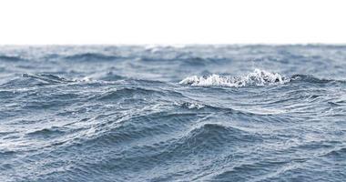 fond de nature ou bannière faite de vagues. photo
