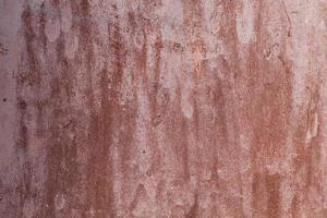 texture de métal peint rouillé