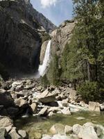 Parc national de Yosemite, Whater Falls en Californie photo