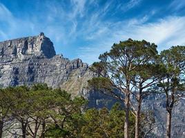 Montagne de la table à Cape Town