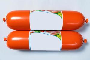 Produit de salami à saucisse, prêt pour la vente