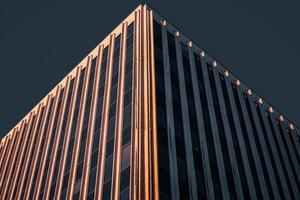 immeuble de grande hauteur marron