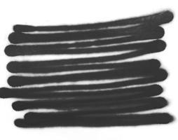 texture d'encre de peinture en aérosol noir photo