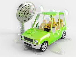 laver la voiture photo