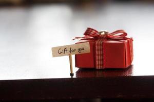 cadeau pour vous concept photo
