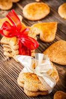 biscuits de pain d'épice faits à la main