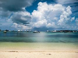 bateaux amarrés aux Bermudes photo