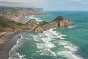 Vue aérienne des gammes de Waitakere photo