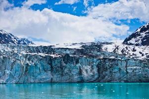 Glacier Bay dans les montagnes, Alaska, États-Unis photo