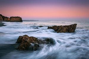 paysage marin de malibu photo