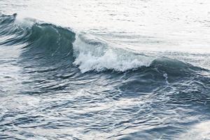texture vagues mer tempête mousse grise