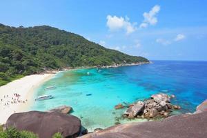 se reposer sur les îles similan photo