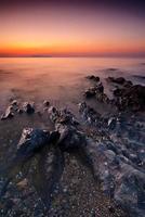 lever de soleil à malahide photo