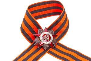 ordre de la guerre patriotique sur ruban